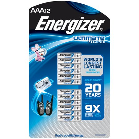 Energizer Lithium Pack - Energizer Lithium AAA - 12 pack
