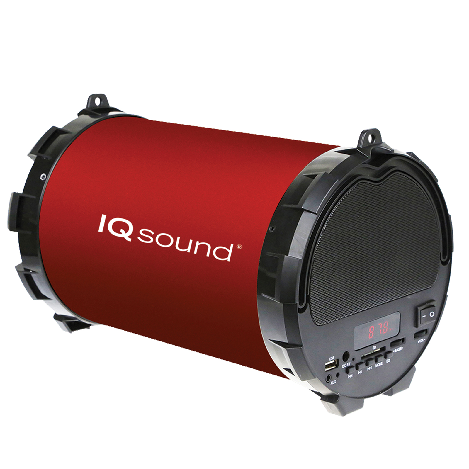 Supersonic BT Portable Speaker  -  Red