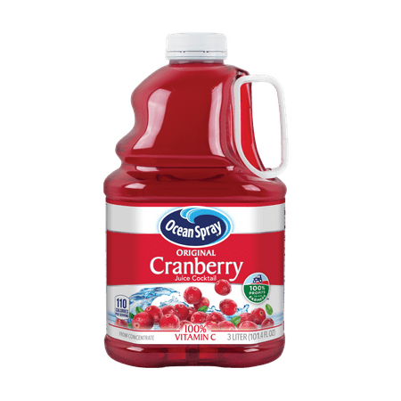 Cranberry Flash ((2 Pack) Ocean Spray Juice Cocktail, Cranberry, 101.4 Fl Oz, 1 Count)