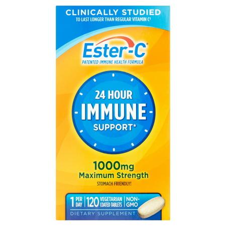 La meilleure Vitamine C Vitamine C 1000 mg supplément de vitamine 120 ct