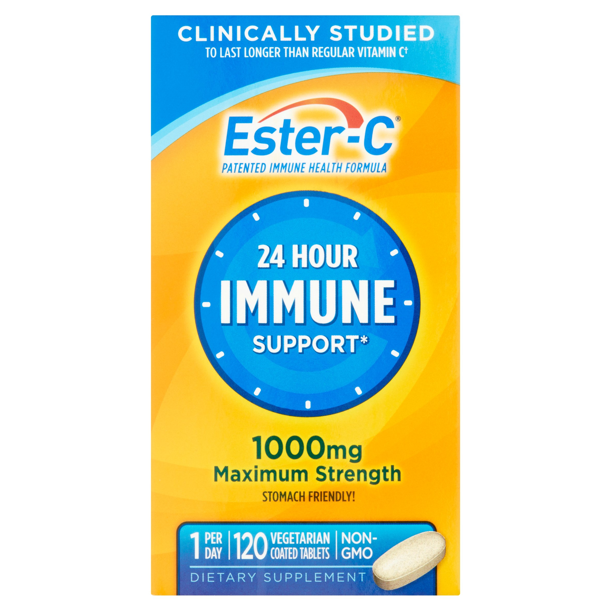 Ester-C The Better Vitamin C Vitamin C 1000 mg Vitamin Supplement 120 ct