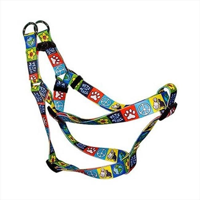 Yellow Dog Design SI-PFP102M Pets for Peace Step-In Harness - Medium