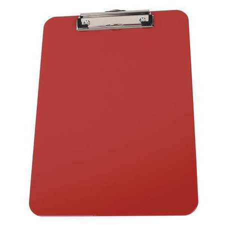 2LJX5 Letter Clipboard, Red