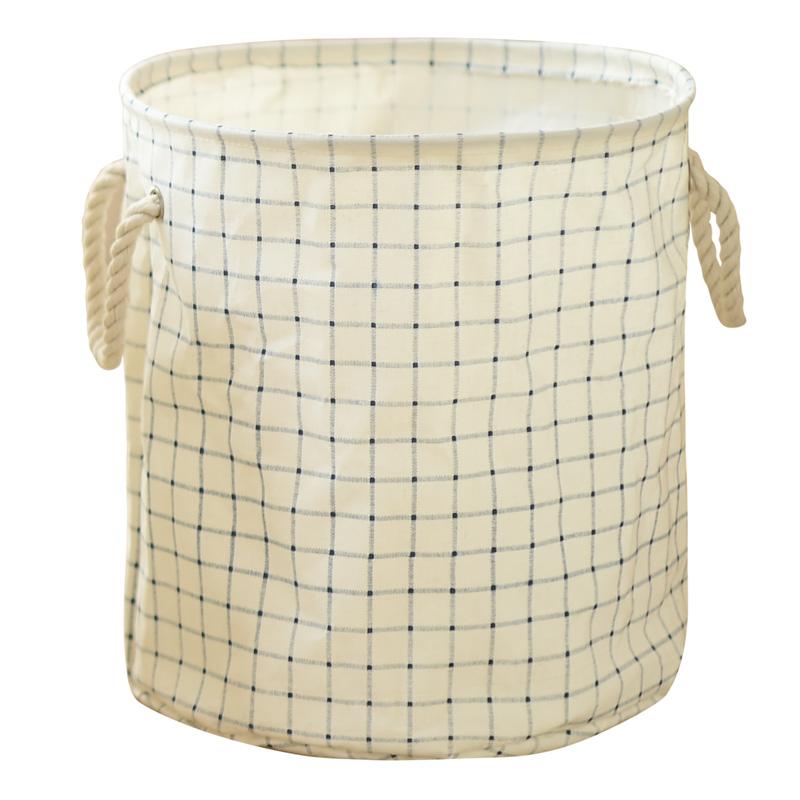 Outgeek Foldable Laundry Basket Round Laundry Hamper Washing Storage