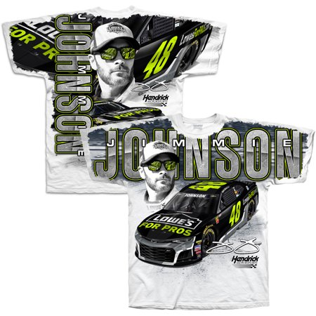 Lowe Shirt (Jimmie Johnson Hendrick Motorsports Team Collection Lowe's Total Print T-Shirt -)