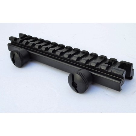- Rifle Scope Full 14slot Riser Mount Flat Top Low Profile 1/2