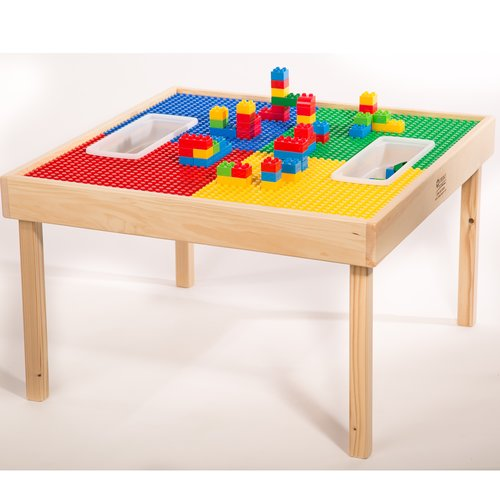 Charmant Zoomie Kids Fabiola Multi Activity Kids Square Lego Table