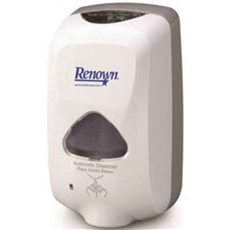 Renown Touch-Free Foam Hand Soap Dispenser, 1,200 Ml, Dove Gray