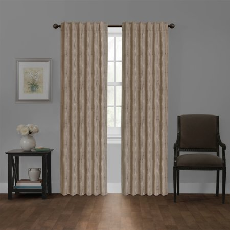 maytex carlton blackout platinum smart curtains window curtain panel 50 x 84 50 x - Smart Curtains