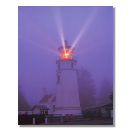 Lighthouse Lake Night Ocean Wall Picture Art Print](Ocean Lakes Halloween 2017)