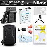 Accessories Bundle Kit For Nikon Coolpix S9900, A900, S97...
