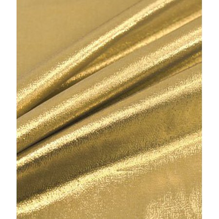 Gold Lame Fabric - by the Yard By Online Fabric Store - Walmart.com