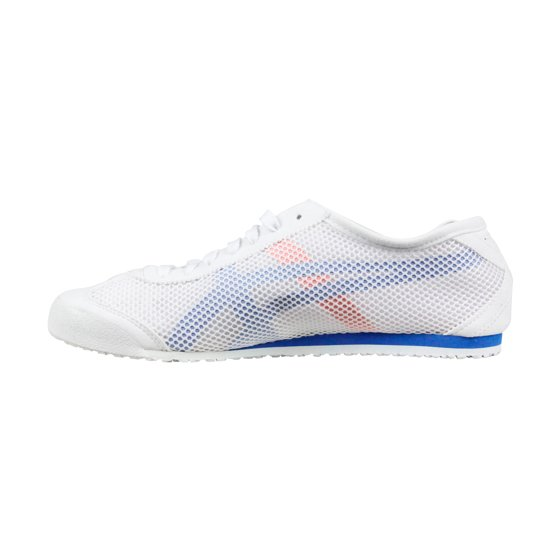 super cute f2a69 9ea08 Onitsuka Tiger Mexico 66 Mens White Mesh Lace Up Sneakers Shoes