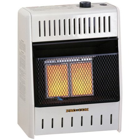 ProCom 10,000 BTU Natural Gas/Propane Infrared Wall Mounted Heater