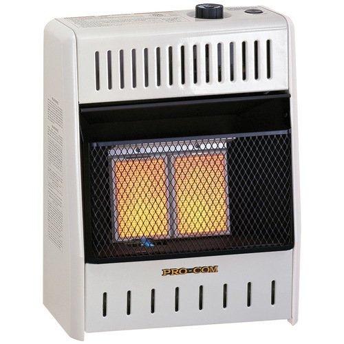 ProCom 10,000 BTU Natural Gas/Propane Infrared Wall Mounted Heater