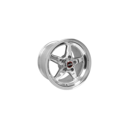 Race Star Drag Star Direct Drilled Polished (DP) 15x10 GM 92-510254DP