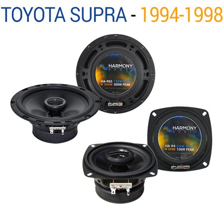 Toyota Supra 1994-1998 Factory Speaker Replacement Harmony R4 R65 Package New