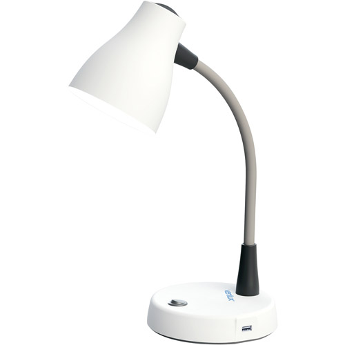 Verilux Tazza Productivity Desk Lamp, White by