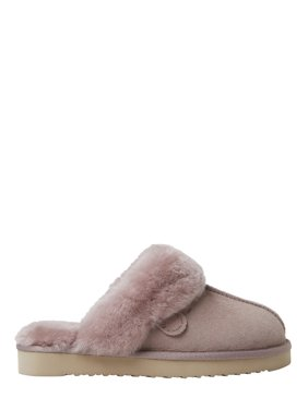 Fireside by Dearfoams Women's Sydney Sheepskin Scuff Slippers