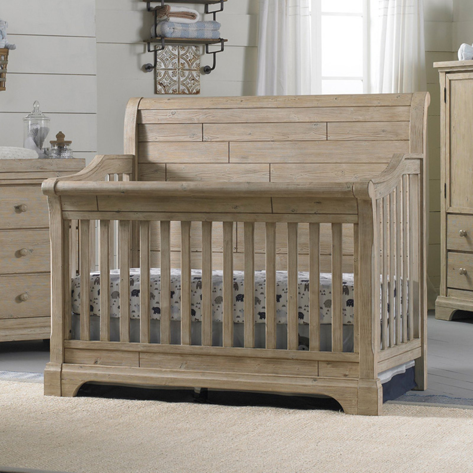Cosi Bella Delfino 4-in-1 Convertible Crib