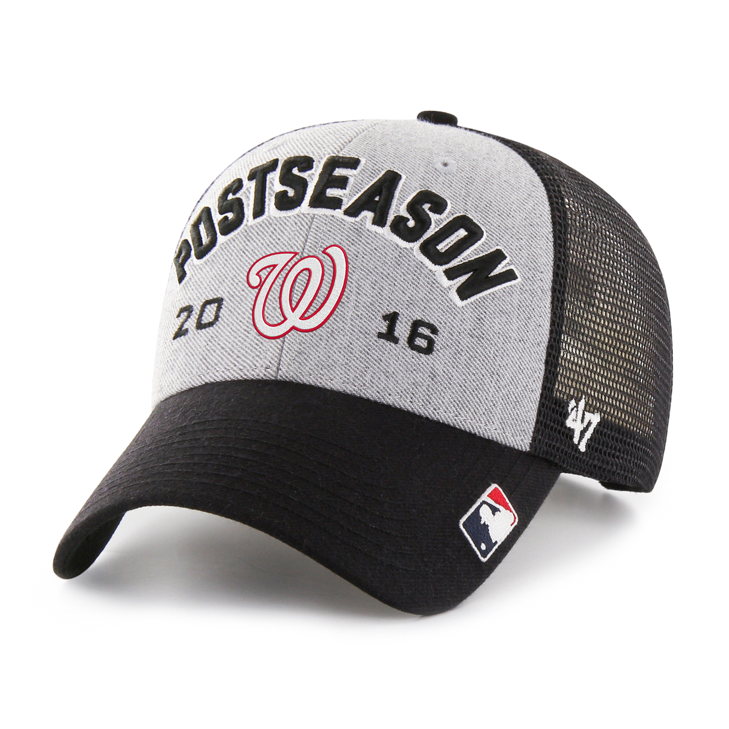 Washington Nationals '47 2016 NL East Division Champions Locker Room Adjustable Hat - Gray - OSFA