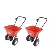 Earthway Ev-N-Spread Flex-Select Seed and Fertilizer Spreader, Red (2 Pack)