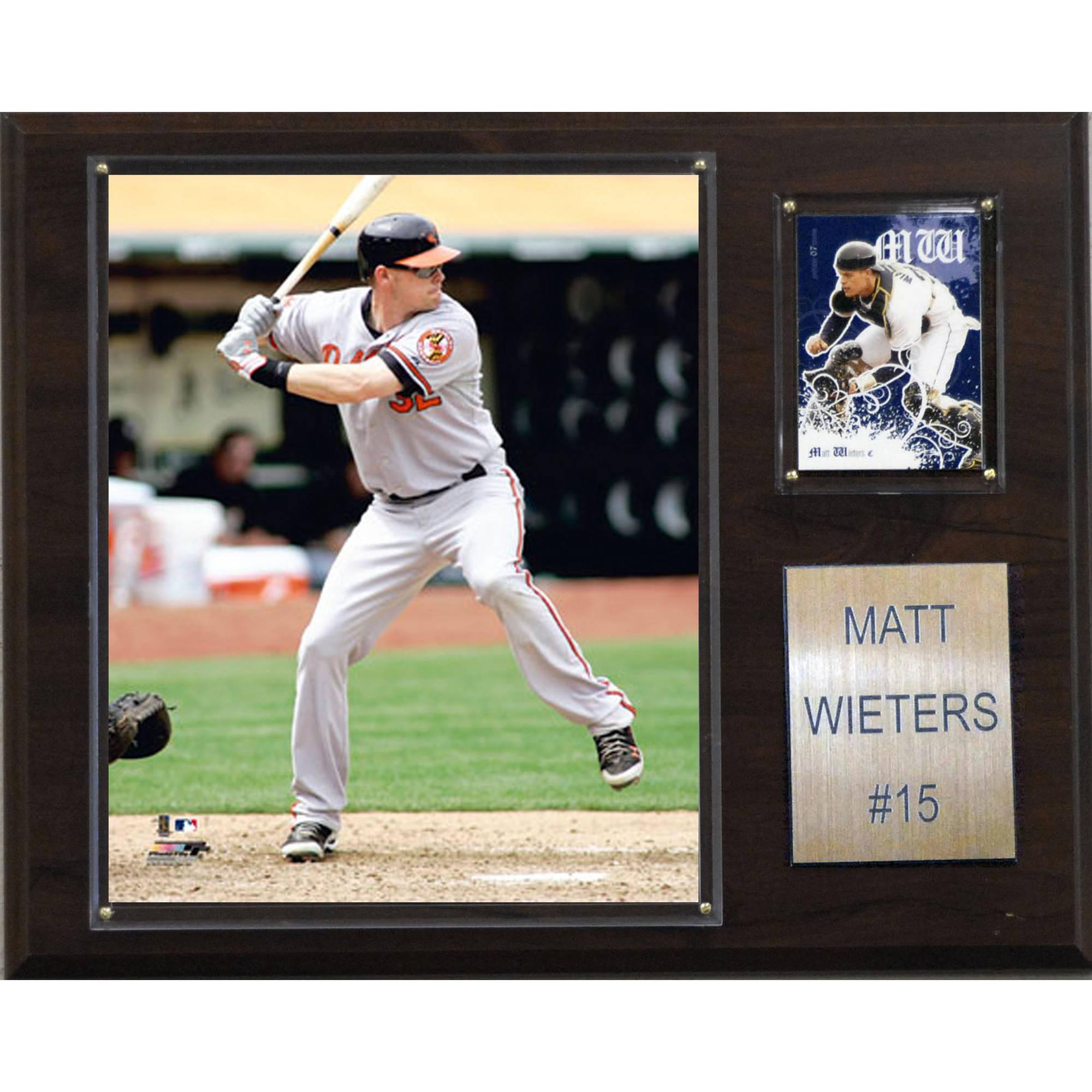 C&I Collectables MLB 12x15 Matt Wieters Baltimore Orioles Player Plaque