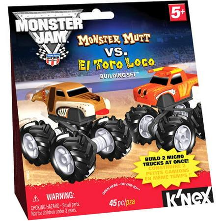 Knex Monster Jam El Toro Locomonster Mutt Walmart