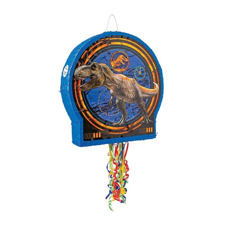 Fun Express - Jurassic World Pinata for Birthday - Party Supplies - Licensed Tableware - Misc Licensed Tableware - Birthday - 1 Piece](World Of Pinatas)