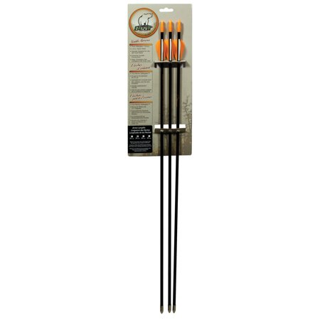 "Bear Archery Youth 30"" Safety Glass Vaned Arrows - High Flexing Qualities - Will Not Splinter - 3 Pack thumbnail"