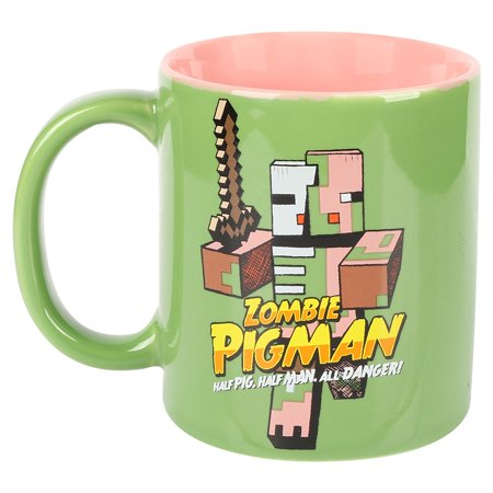 Mug - Minecraft - Zombie Pigman Coffee Cup 11oz j7953