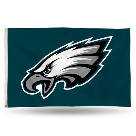 - Rico Industries NFL 3' x 5' Banner Flag, Philadelphia Eagles