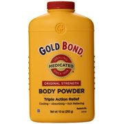Gold Bond Body Powder Medicated 10 oz (Pack of 3)