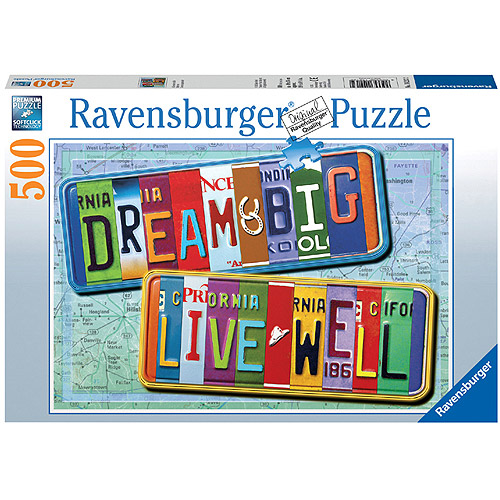 Ravensburger A License to Life Puzzle, 500 Pieces
