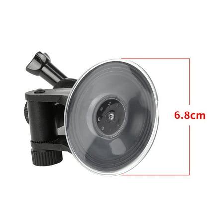 Car Suction Cup Mount Holder Bracket For Gopro Hero 1 2 3 4 Action Camera,black - image 2 of 11