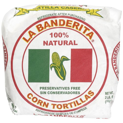 "La Banderita Casera Corn 6"" Tortillas, 36 ct"