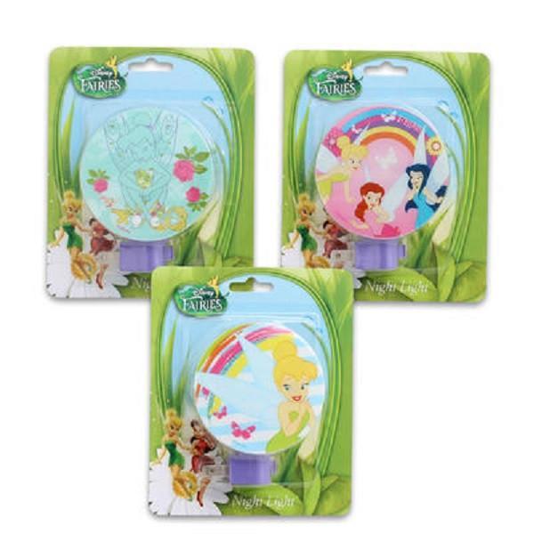 Disney Fairies Night Light - Tinker Bell, Silvermist, Ros...