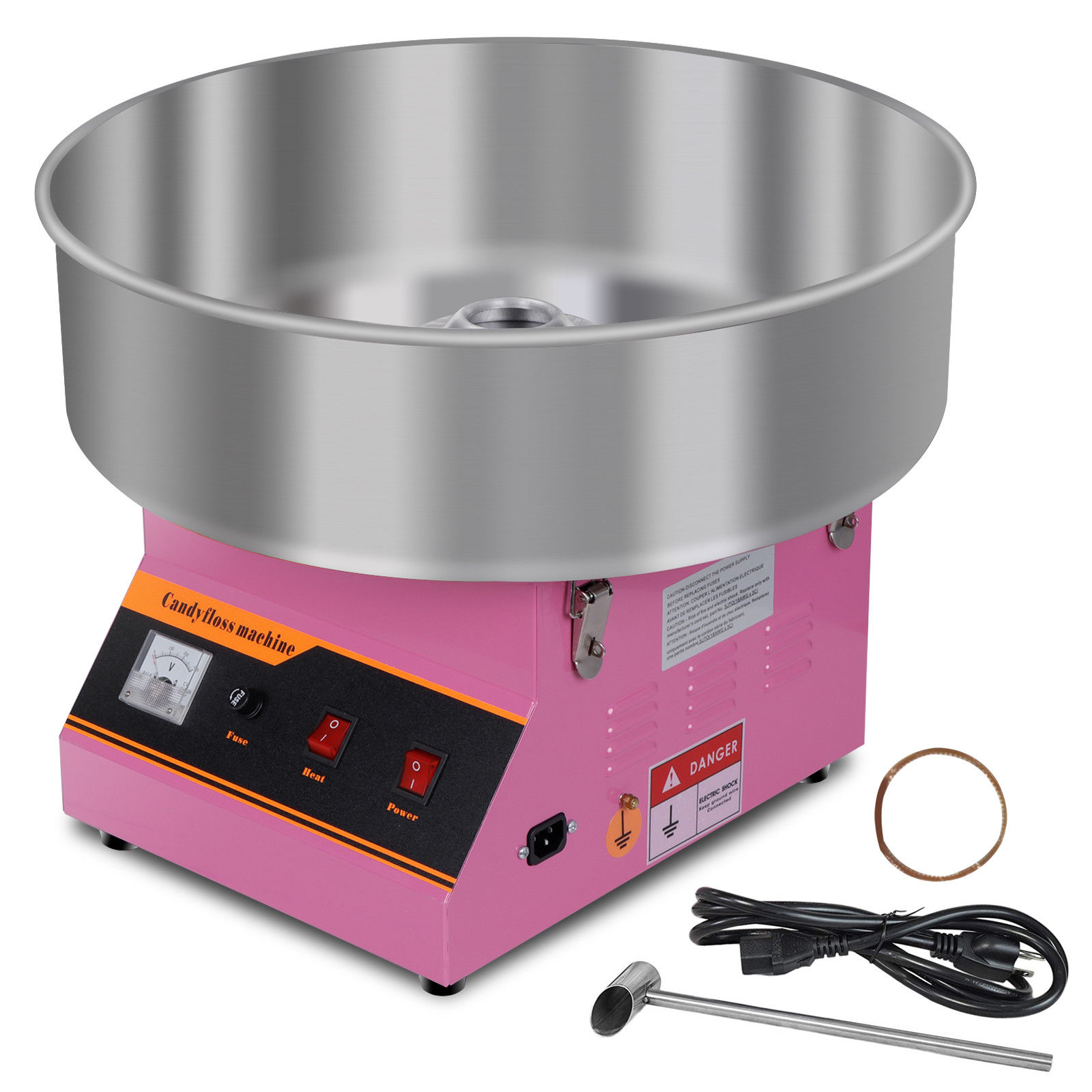 "Zeny 20"" Electric Commercial Cotton Candy Machine / Floss ..."