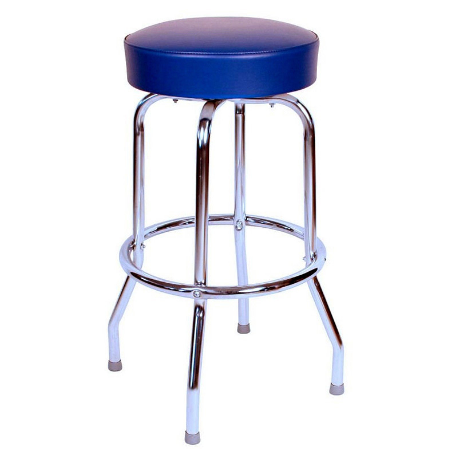 Richardson Seating Floridian 30 in. Swivel Bar Stool with Chrome Base