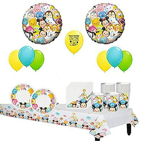 Disney Tsum Tsum Party Pack For 16 - Disney Halloween Party 2017 Hours