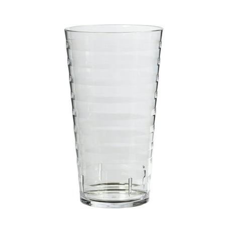 Mainstays Splash 20 Oz. Clear Tumbler