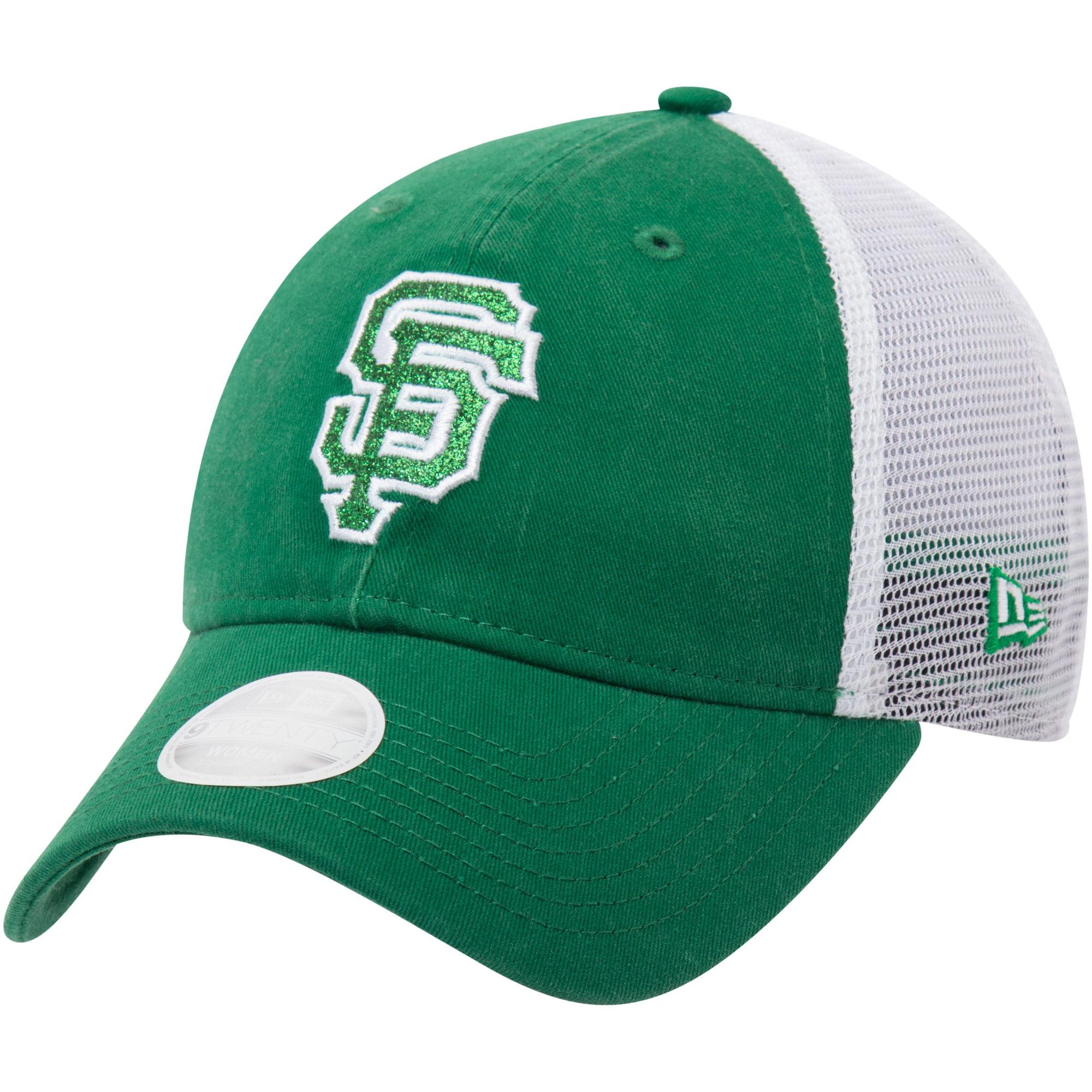 San Francisco Giants New Era Women's Trucker Shine St. Patrick's Day 9TWENTY Adjustable Hat - Green - OSFA