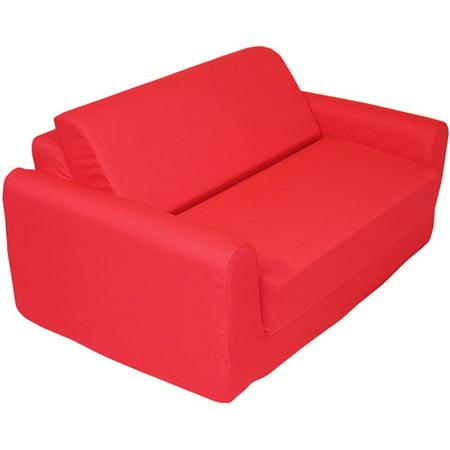 Kids Sofa Sleeper, Red