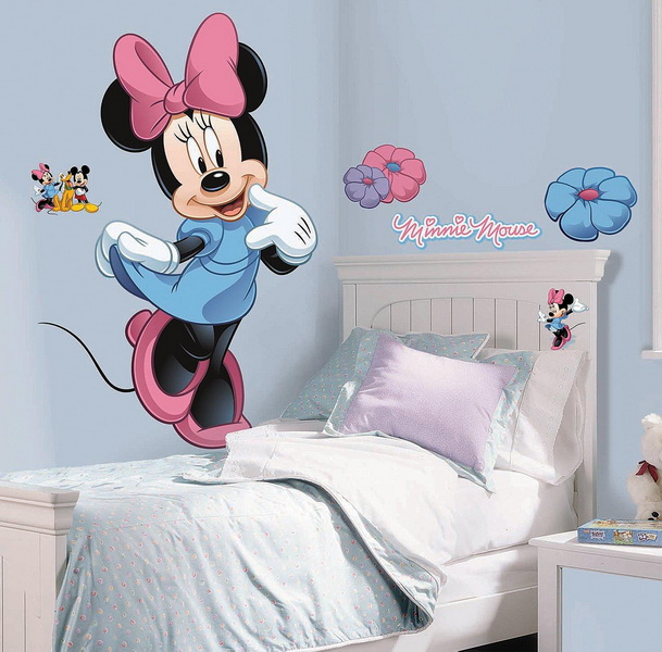 York Wallcoverings 202964 Disney Minnie Mouse Giant Wall Decal