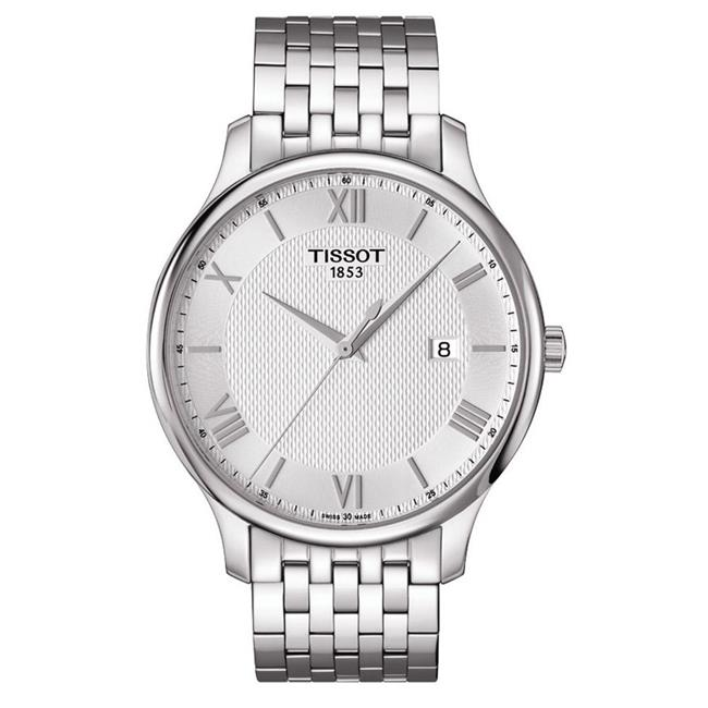 Tissot T0636101103800 Tradition Mens Watch - Silver Dial - image 1 de 1