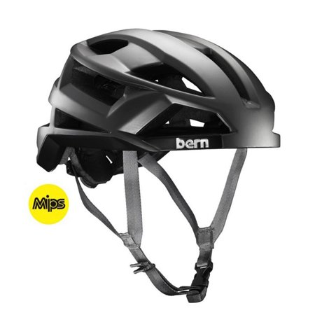 Bern FL-1 MIPS Summer Mens Bike Helmet 2016 Medium Satin Silver Grey Road (Best Mips Road Bike Helmet)
