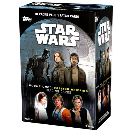 Star Wars Rogue One Mission Briefing Trading Card Blaster Box [10 Packs]