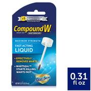 Compound W Maximum Strength Fast Acting Liquid Wart Remover, 0.31 fl. Oz.