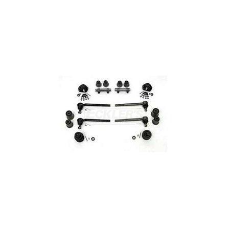 Basic Suspension - Eckler's Premier  Products 40347886 Full Size Chevy Front End Suspension Rebuild Kit Basic