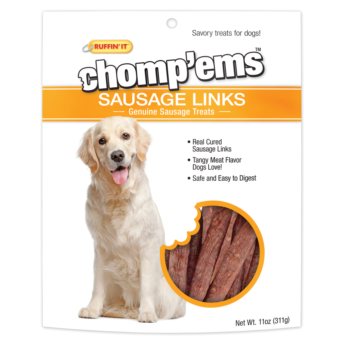 Chomp'ems Sausage Links, 11oz